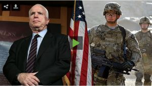 John McCain urge a Obama, a ocupar militarmente Venezuela.