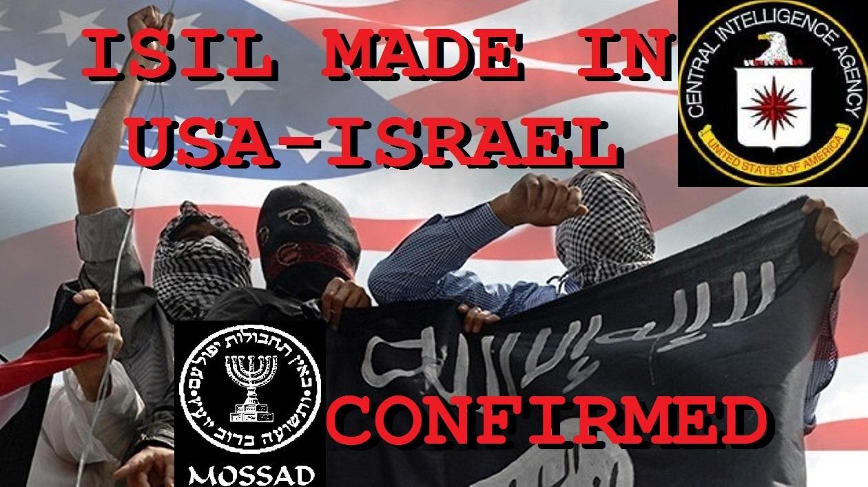 Resultado de imagen de ISIS = EEUU + ISRAEL