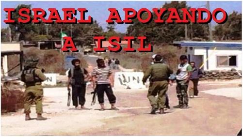 ISRAEL APOYANDO ISIL
