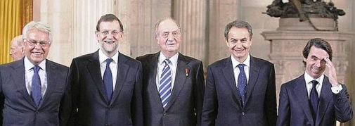 LA MAFIA DE LOS GOBERNANTES DE ESPAÑA
