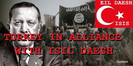 TURKEY IN ALLIANCE WITH ISIL DAESH