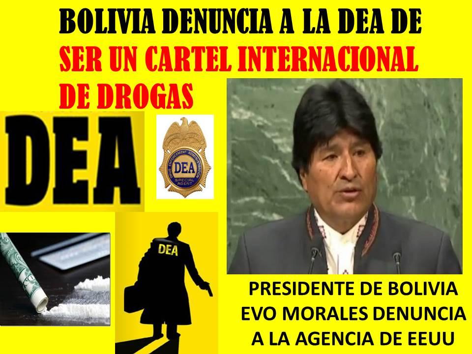 Resultado de imagen para bolivia antidrogas cia dea