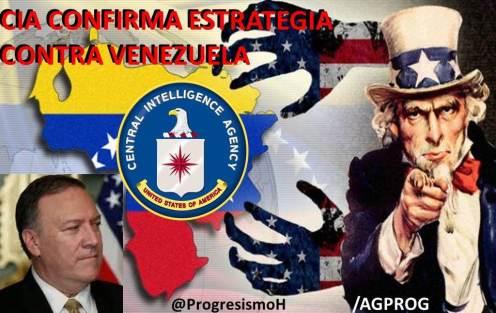Resultado de imagen para estrategia cia en venezuela